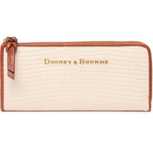 Dooney & Bourke Reptile  Zip-Around Wallet